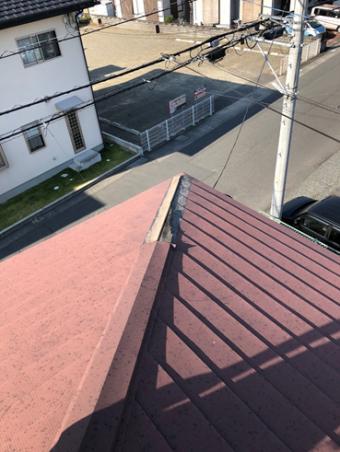 富士台風棟板金
