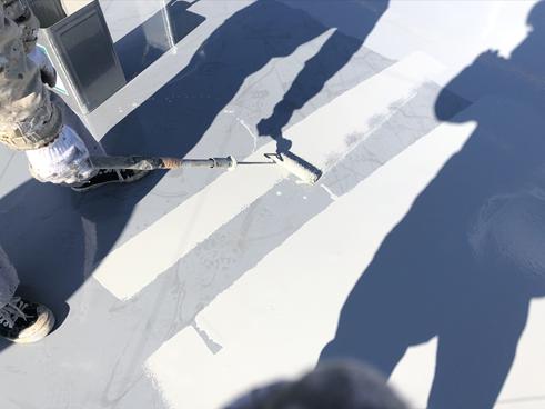 三島市アパート塗装防水