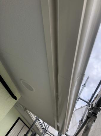 沼津市屋根塗装軒天雨樋