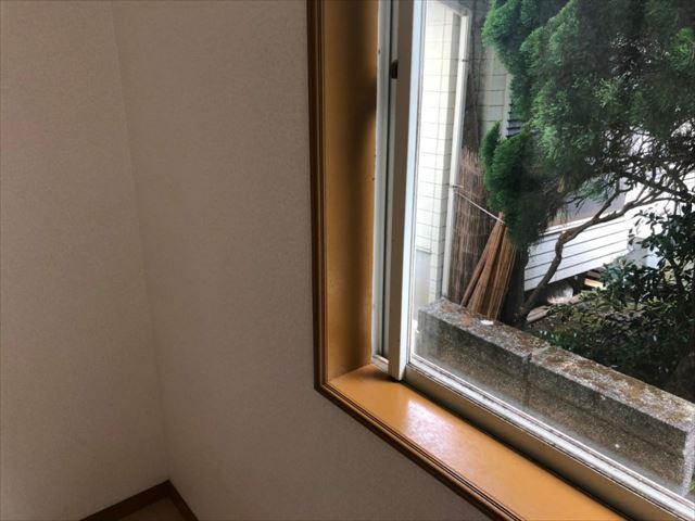伊豆の国市木部窓塗装