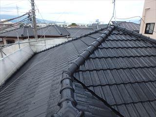 屋根瓦塗装完了