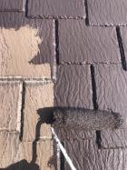 沼津市屋根塗装下塗り