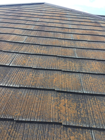 沼津カラーベスト屋根劣化