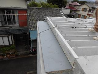 三島市雨漏り補修完工