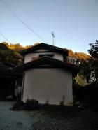 函南町台風ベランダ