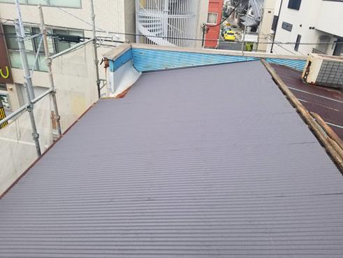 沼津台風トタン屋根カバー