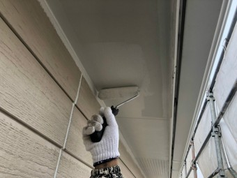 沼津市軒下外壁塗装