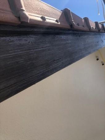 沼津市破風板塗装完了