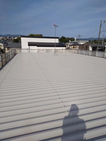 三島市屋根アパート塗装