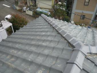 富士市棟瓦完工