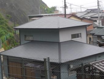 沼津市屋根塗装後