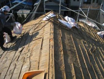三島屋根葺き替え