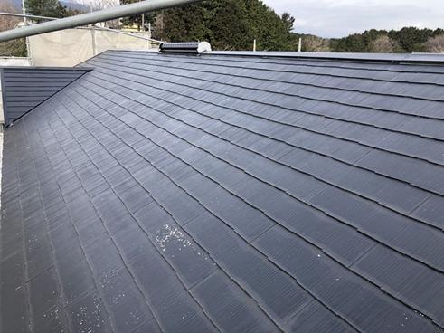 裾野屋根塗膜劣化