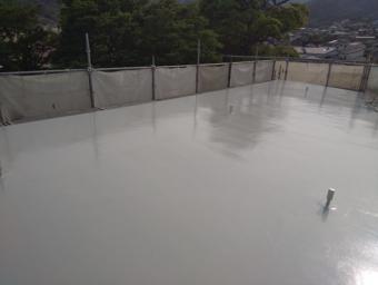 熱海ウレタン防水完工
