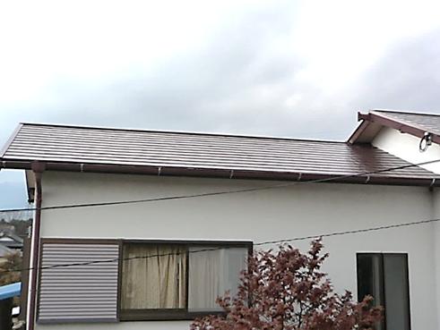 裾野屋根塗装後