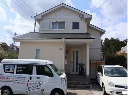 裾野外壁屋根塗装後