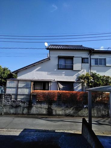 三島漆喰劣化