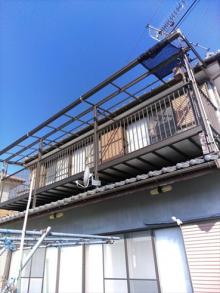 伊豆市雨漏りテラス屋根