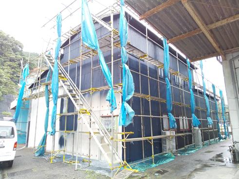 沼津屋根外壁塗装