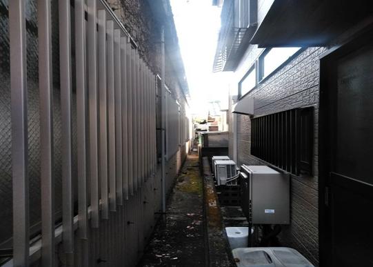 沼津工場雨樋