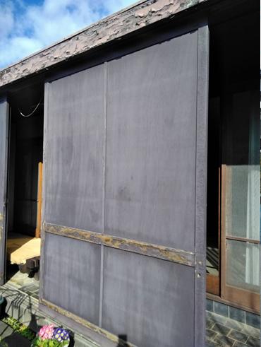 沼津木製雨戸塗装