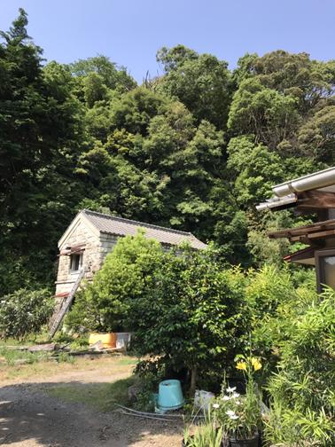 沼津台風石壁
